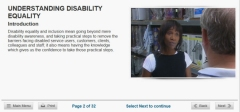 disability online