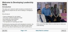 developing leadership online course