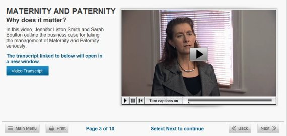 maternity paternity online