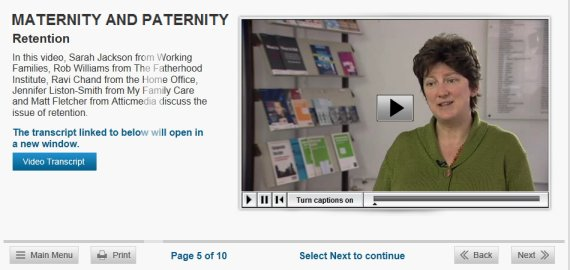 maternity paternity equality