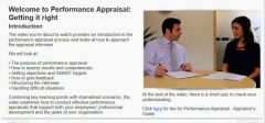 performance appraisal elearning