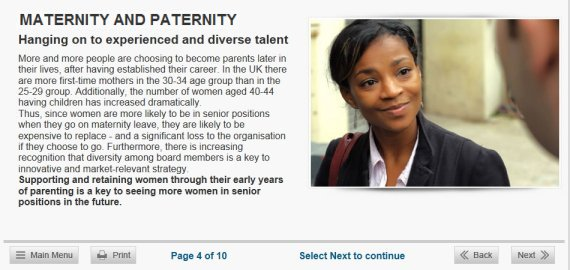 maternity paternity course